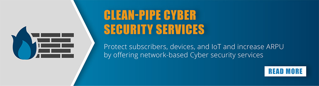 Clean-pipe cyber security services